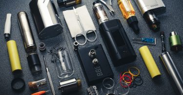 different types of vape box bods and kits